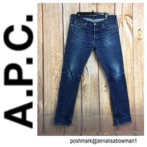 ⭐️A.P.C Petit New Standard Denim Jean size 34